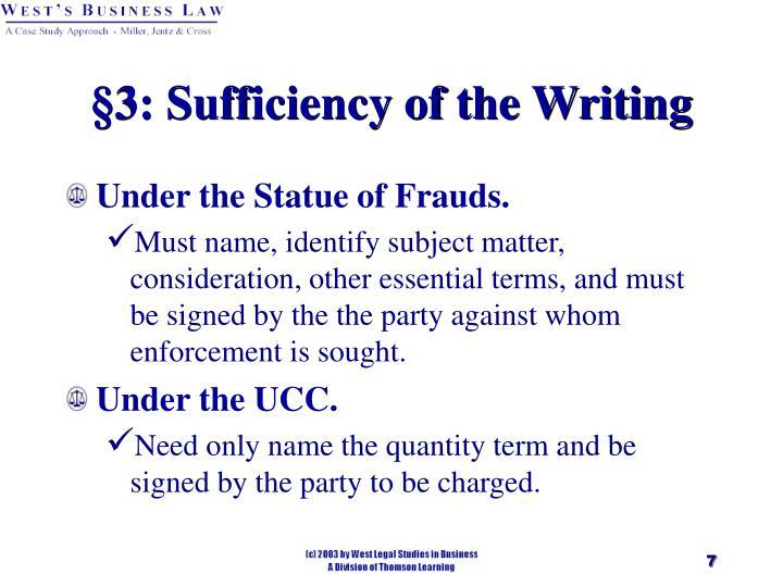 Parol Evidence Rule Ucc