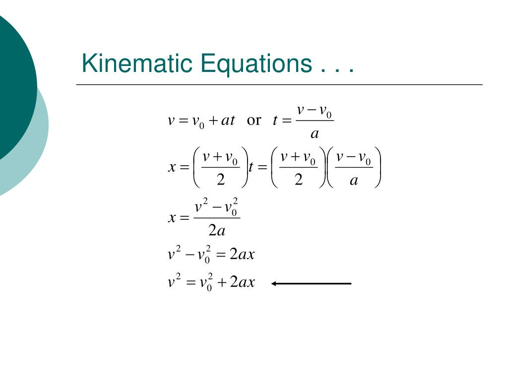PPT - Kinematics in One Dimension PowerPoint Presentation. free download - ID:1748153