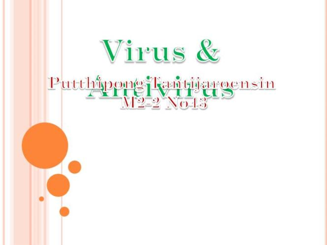 Antivirus Programs And Companies