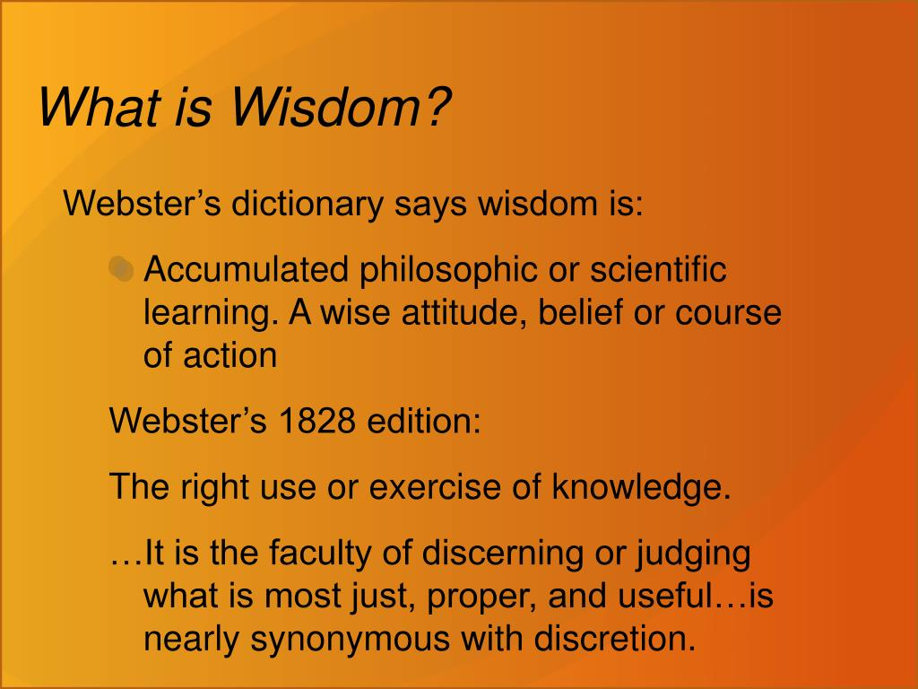 PPT - If Anyone Lacks Wisdom… PowerPoint Presentation. free download - ID:1769730