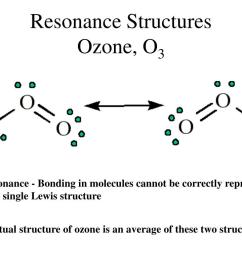 ppt electron dot structures powerpoint presentation id 1775299resonance structuresozone o3 resonance bonding in molecules cannot [ 1024 x 768 Pixel ]