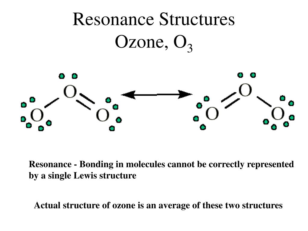 hight resolution of ppt electron dot structures powerpoint presentation id 1775299resonance structuresozone o3 resonance bonding in molecules cannot