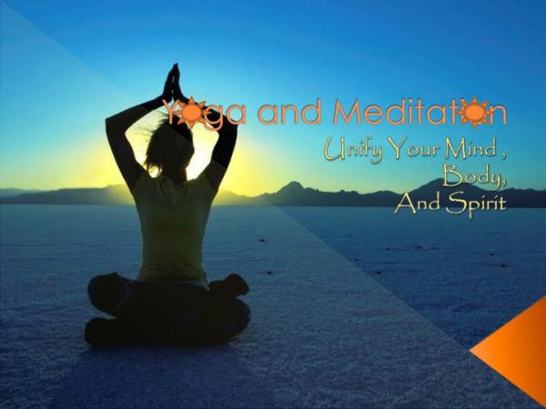 PPT Yoga and Meditation PowerPoint Presentation ID1841304