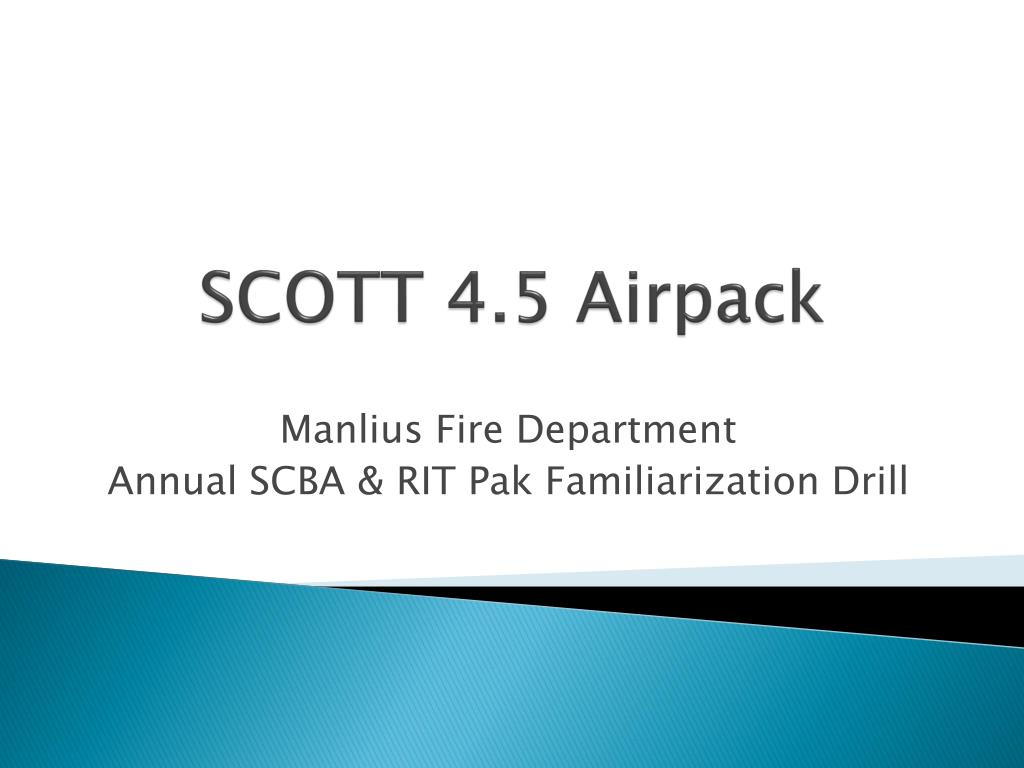 hight resolution of scott 4 5 airpack manlius