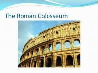 PPT - Roman Entertainment PowerPoint Presentation - ID:1870768