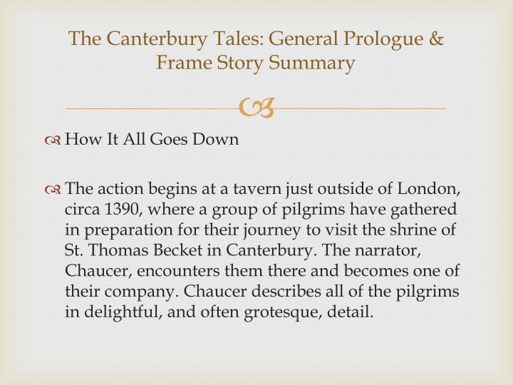 Ppt  The Canterbury Tales Powerpoint Presentation Id