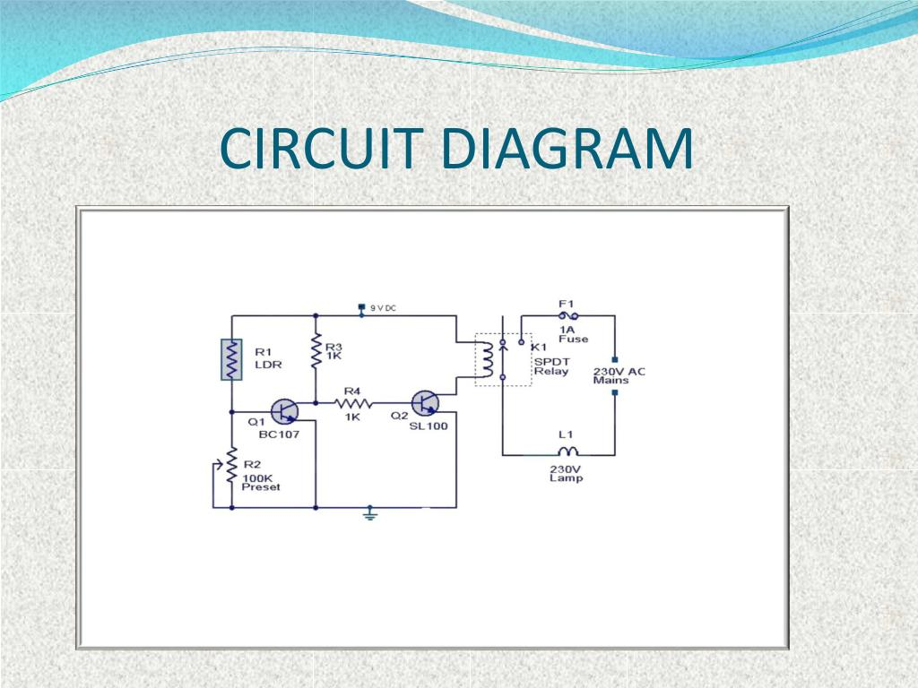 hight resolution of  it will be in the off state and when it is dark then the light will be in on state it means ldr is inversely proportional to light circuit diagram