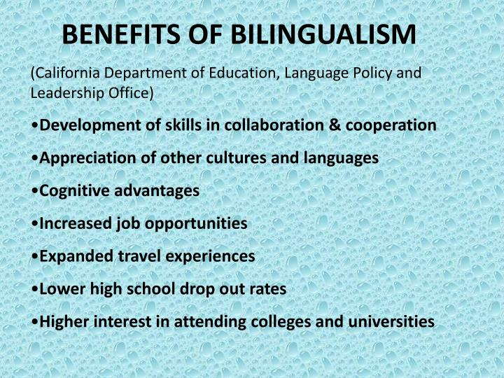 PPT BILINGUALISM & MULTILINGUALISM PowerPoint