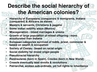 latin america hierarchy chapter early slideserve american social ppt powerpoint presentation