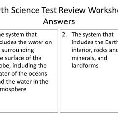 PPT - Earth Science Test Review Worksheet ANSWERS (30 points) PowerPoint  Presentation - ID:2055237 [ 768 x 1024 Pixel ]