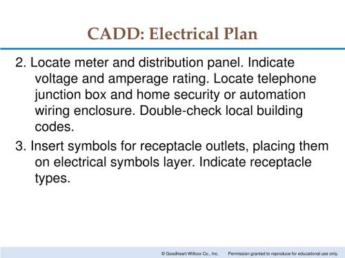 small resolution of cadd electrical plan 2