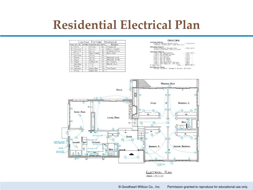 hight resolution of electrical plan image