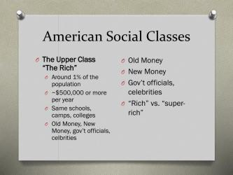 social class classes inequality stratification ppt powerpoint presentation