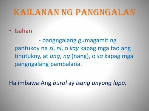 small resolution of Kailanan Ng Pangngalan Worksheet   Printable Worksheets and Activities for  Teachers