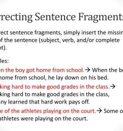 Sentence Or Fragment Worksheet   Printable Worksheets and Activities for  Teachers [ 768 x 1024 Pixel ]