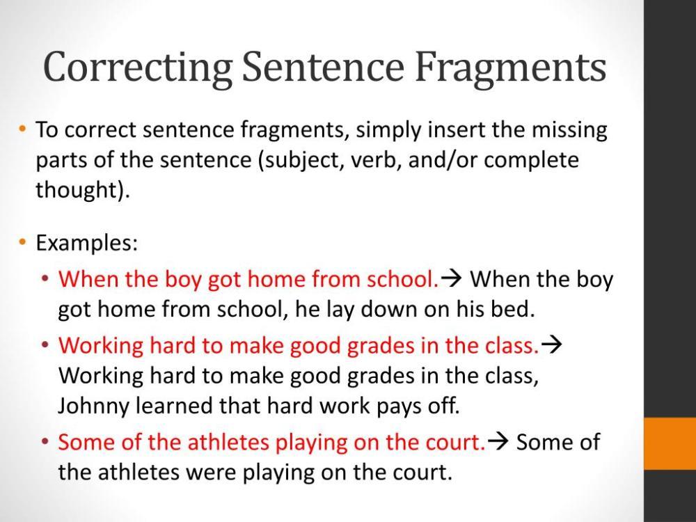 medium resolution of Sentence Or Fragment Worksheet   Printable Worksheets and Activities for  Teachers