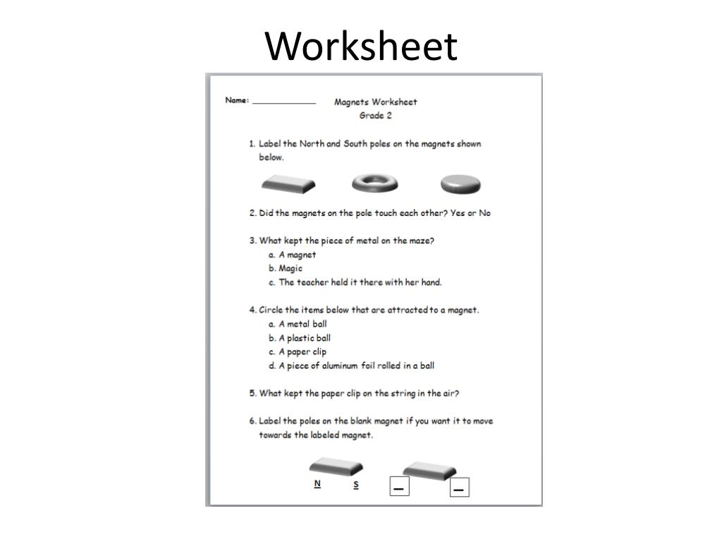 hight resolution of Floating Magnets Worksheet   Printable Worksheets and Activities for  Teachers