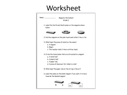 small resolution of Floating Magnets Worksheet   Printable Worksheets and Activities for  Teachers