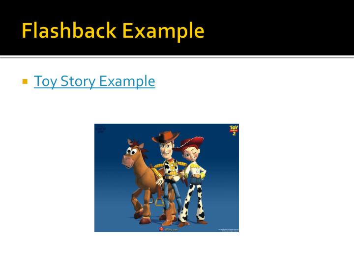 PPT Flashback And Foreshadowing PowerPoint Presentation