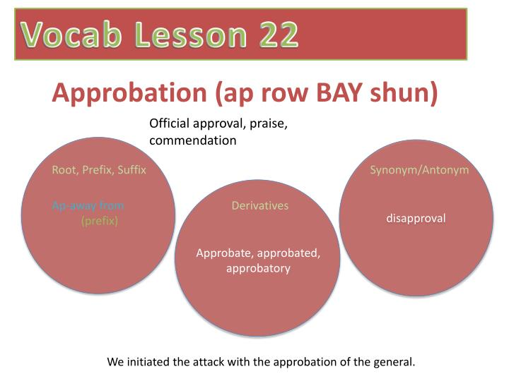 PPT - Approbation ( ap row BAY shun) PowerPoint Presentation. free download - ID:2299540