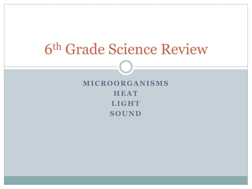 medium resolution of PPT - 6 th Grade Science Review PowerPoint Presentation