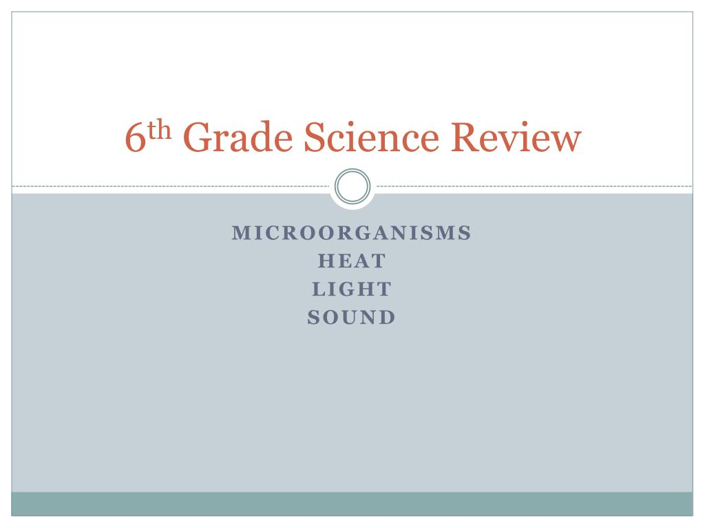 hight resolution of PPT - 6 th Grade Science Review PowerPoint Presentation