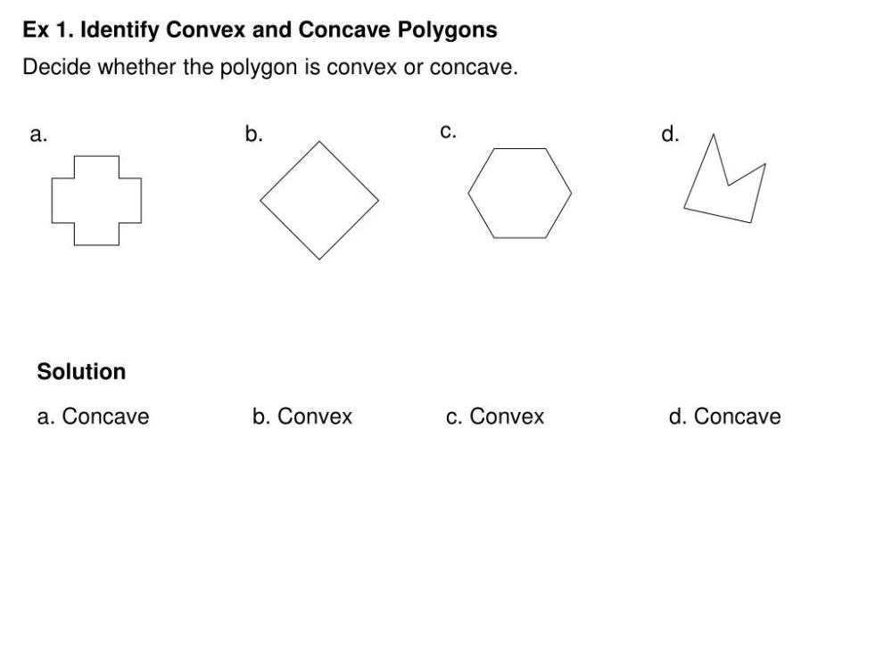 medium resolution of Concave Or Convex Polygon Worksheet   Printable Worksheets and Activities  for Teachers