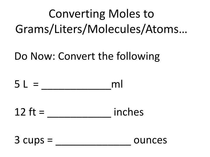 Ounces Liters Convert