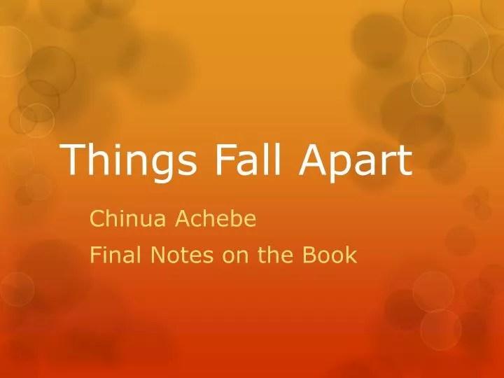 Okonkwo in Things Fall Apart  Shmoop