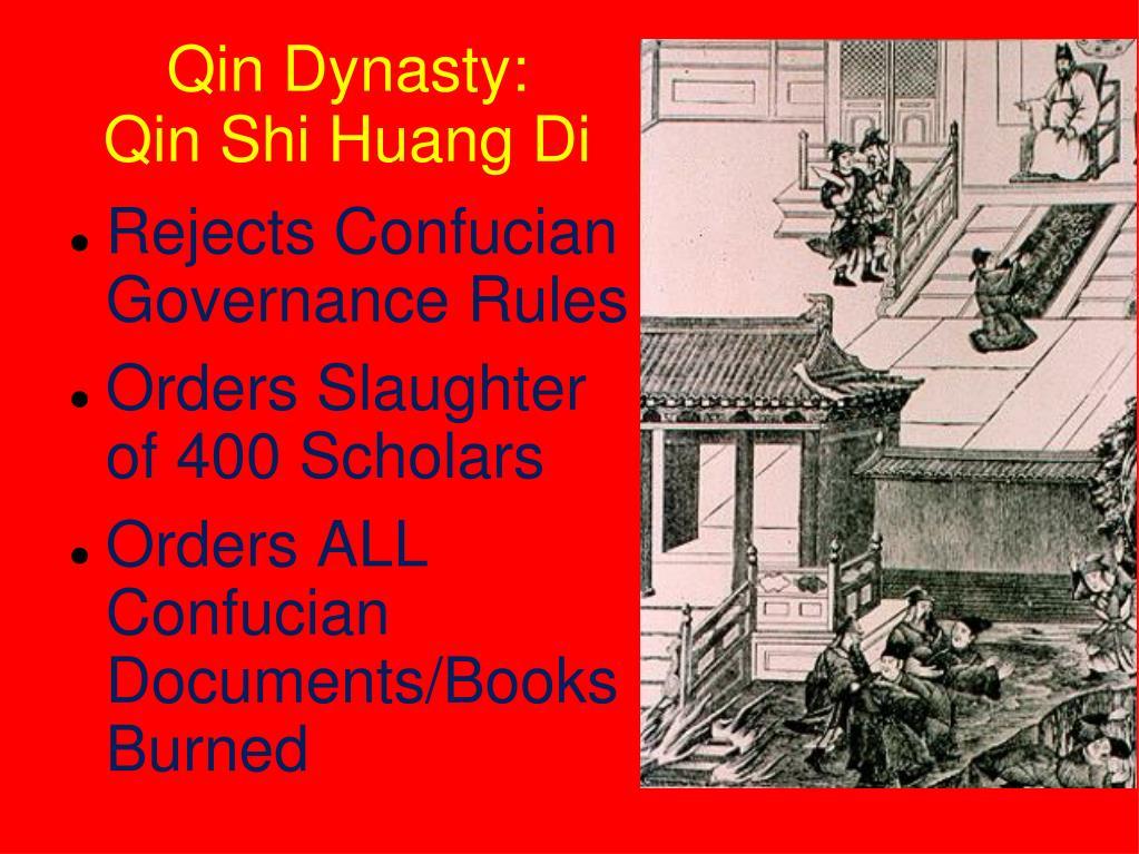 Dynasty Did Fall Why Qin