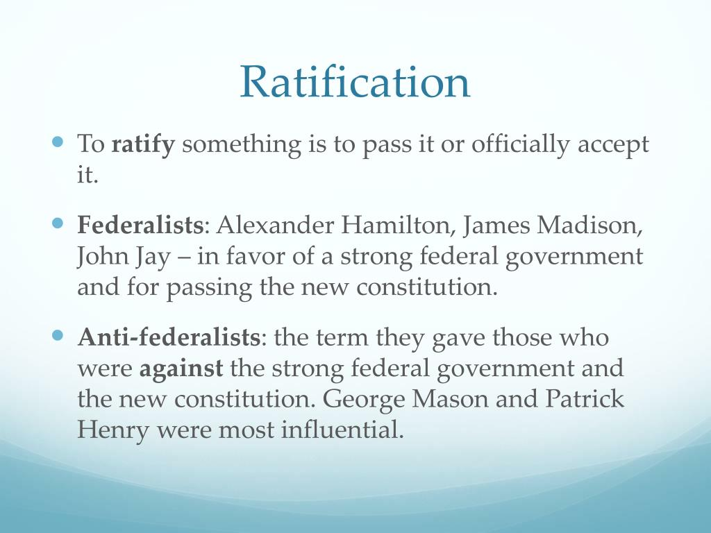 Patrick 1787 Henry Madison Ratification James Cartoons About And
