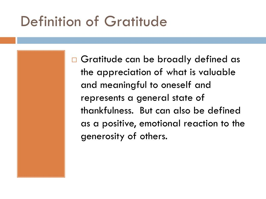 PPT - Gratitude for Well-Being. Relationships and Your Health PowerPoint Presentation - ID:2460195
