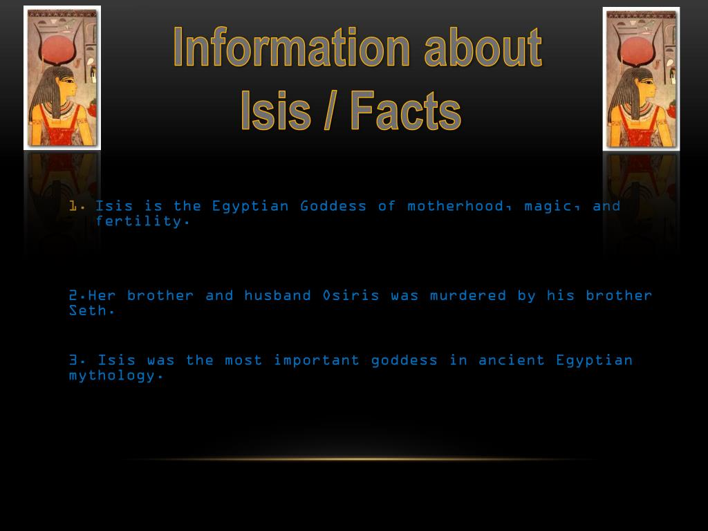 Isis Facts Ancient Egypt