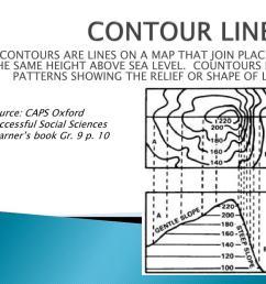 PPT - CONTOUR LINES PowerPoint Presentation [ 768 x 1024 Pixel ]