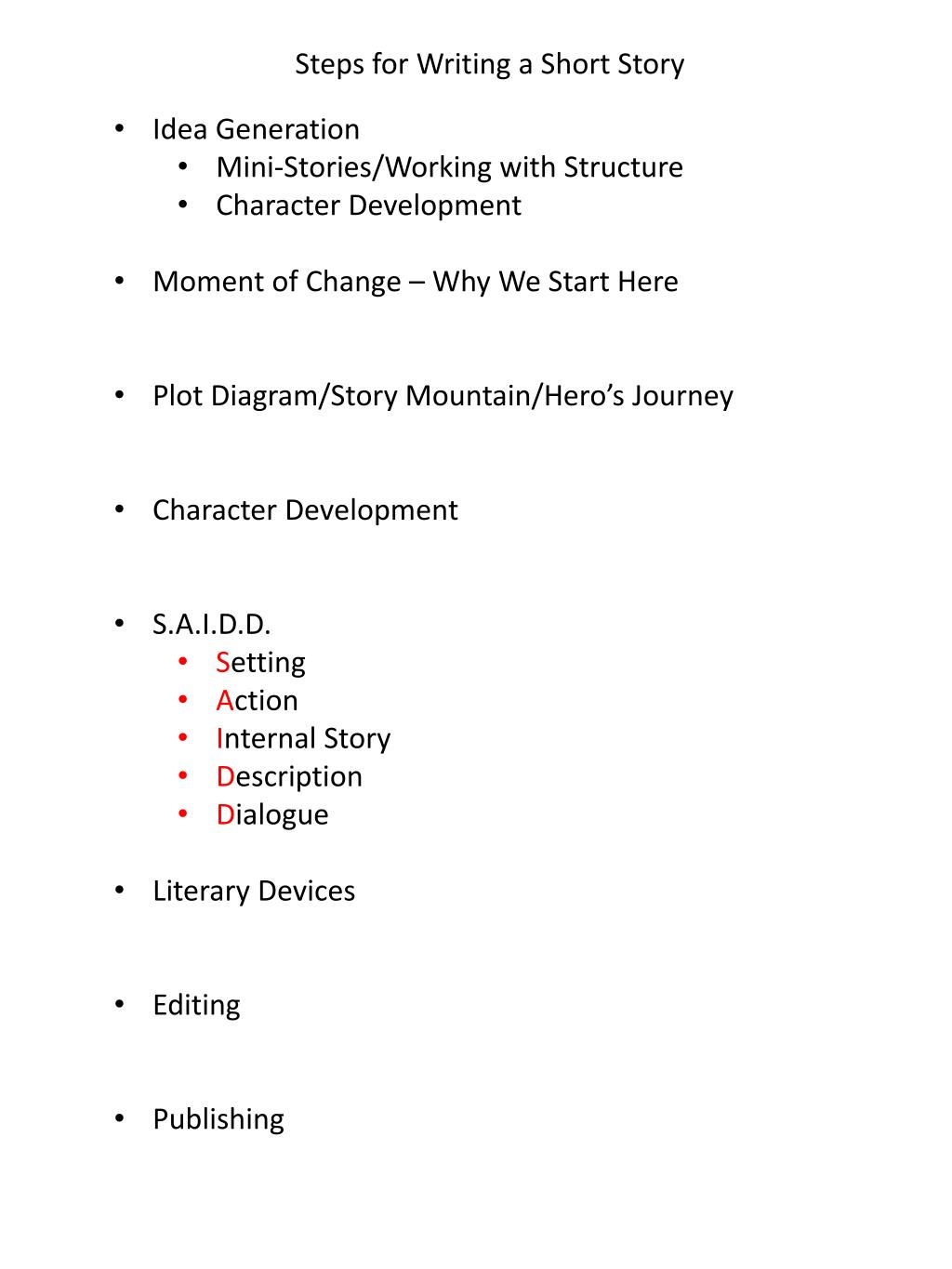 hight resolution of  character development moment of change why we start here plot diagram story mountain hero s journey character development s a i d d setting