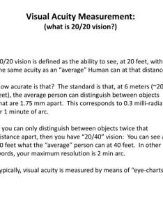 Visual acuity measurement also ppt what is vision powerpoint rh slideserve