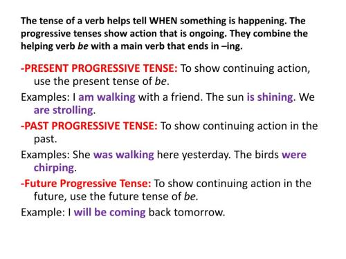 small resolution of Past Progressive Tense Verb Worksheets   Printable Worksheets and  Activities for Teachers