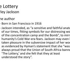 The Lottery By Shirley Jackson Plot Diagram 2010 Nissan Versa Radio Wiring Ppt - Powerpoint Presentation Id:2606280