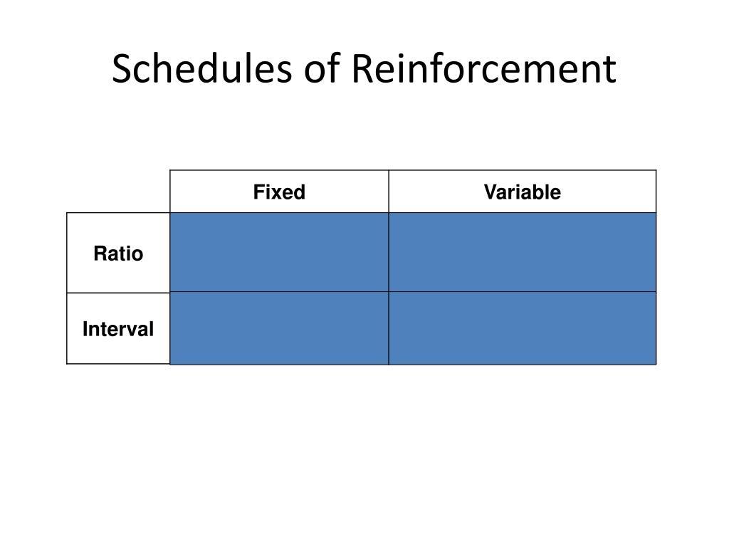 PPT - Schedules of Reinforcement PowerPoint Presentation. free download - ID:2611278