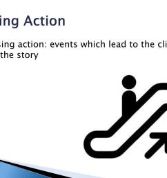 rising action rising action events which lead to the climax of the story [ 1024 x 768 Pixel ]
