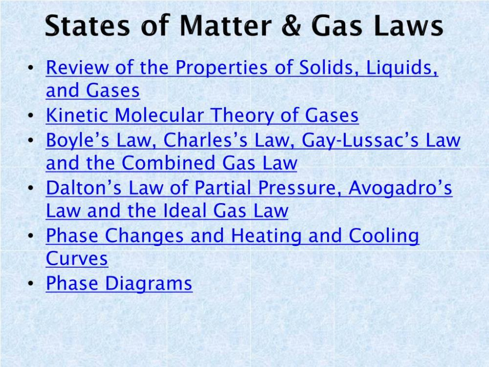 medium resolution of states of matter gas laws n