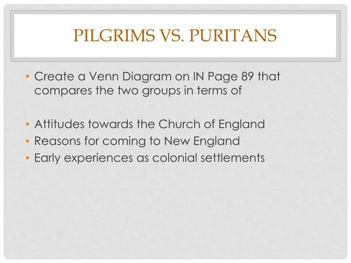pilgrims vs puritans venn diagram razor e150 wiring ppt new england colonies powerpoint presentation id 2619280 create a