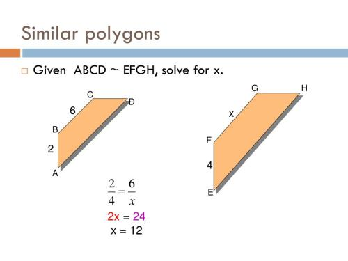 small resolution of Using Similar Polygons Scale Factor Worksheet   Printable Worksheets and  Activities for Teachers
