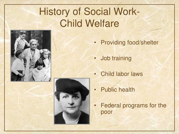 PPT  The Role of Social Work in Pediatrics and Child
