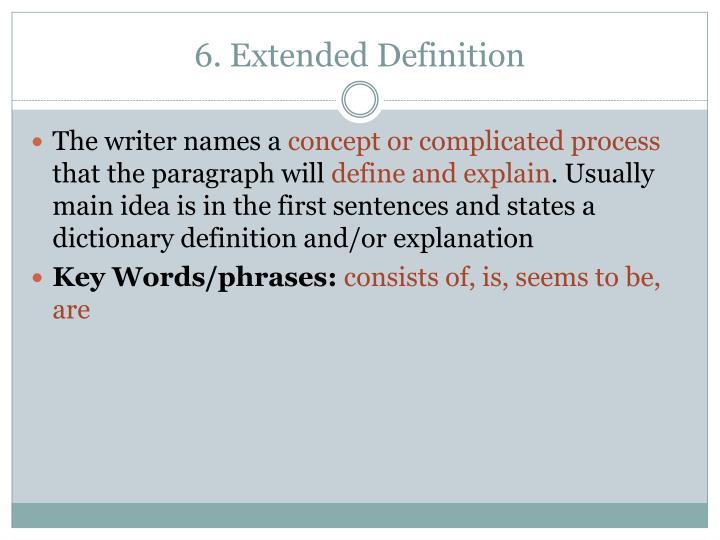 PPT - Patterns of Organization PowerPoint Presentation ...