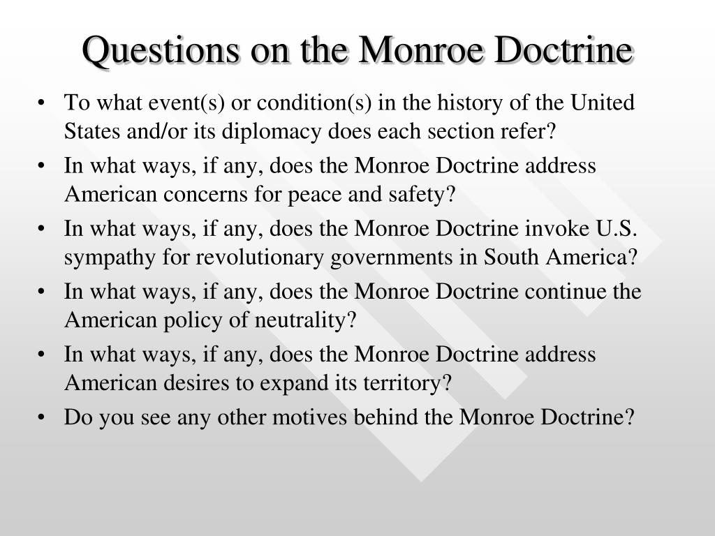 hight resolution of The Monroe Doctrine Worksheet Answer Key   Printable Worksheets and  Activities for Teachers