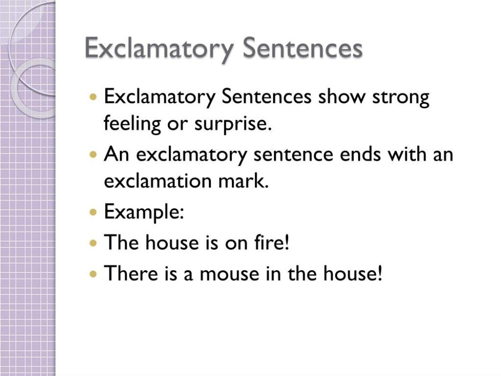 medium resolution of PPT - Imperative and Exclamatory Sentences PowerPoint Presentation