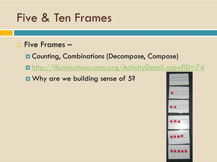 illuminations ten frame game | Allframes5.org