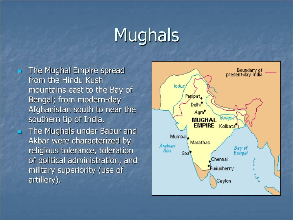 Mughal Control Empire Did What