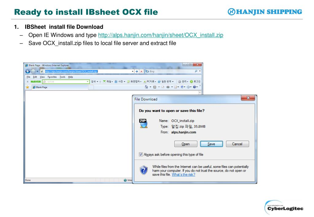 PPT - IBSheet OCX Install Guide PowerPoint Presentation. free download - ID:2792371